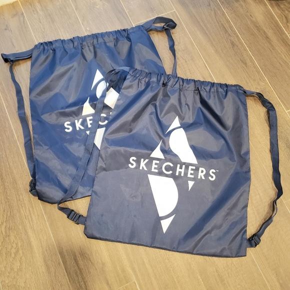 skechers drawstring bag